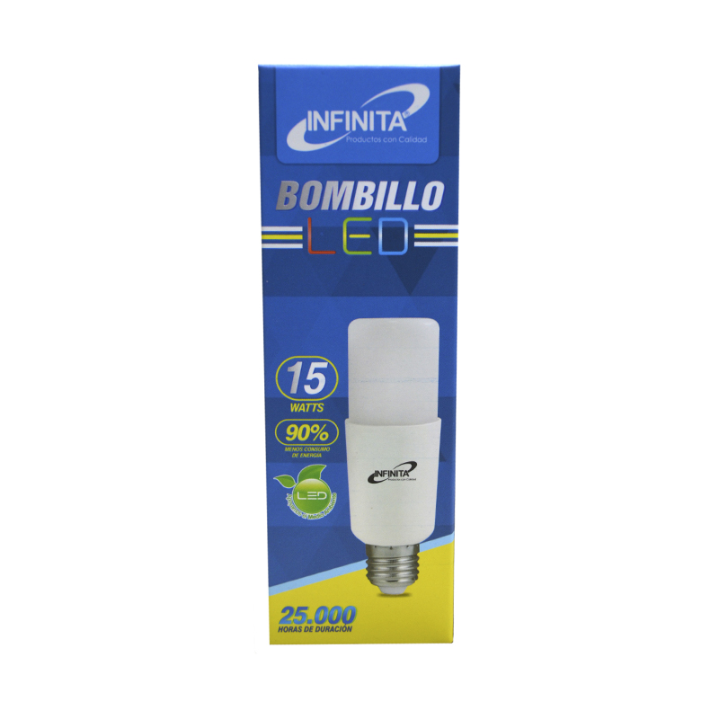 BOMBILLO LED BALA 15W