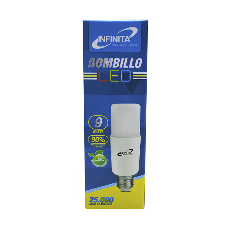 BOMBILLO LED BALA 9W