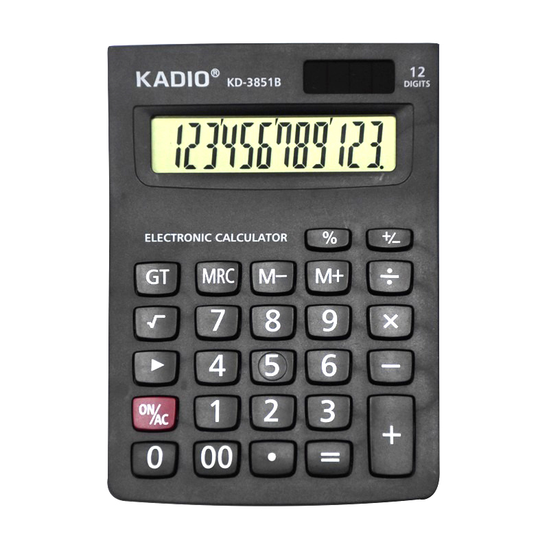 CALCULADORA KADIO 12 DIGITOS